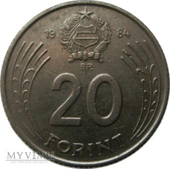 20 Forintów, 1984 rok.