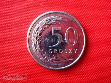 50 groszy 2011 rok