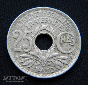 25 Centimes 1930