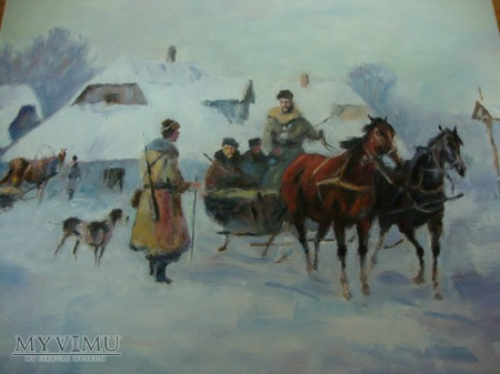 Wyjazd na polowanie Władysław Chmieliński kopia