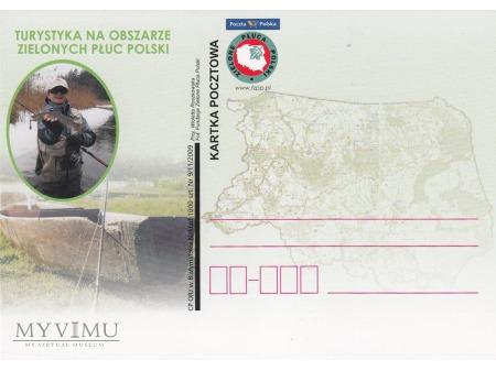 Turystyka na obszarze Zielonych Płuc Polski