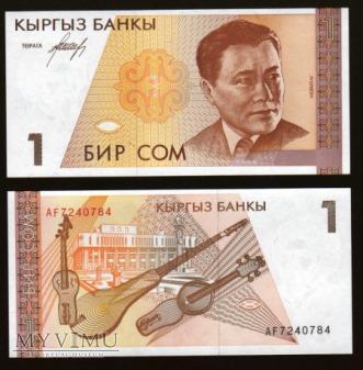 Kyrgystan - P 7 - 1 Som - 1994