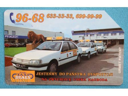 Radio TAXI BIAŁY 96-68