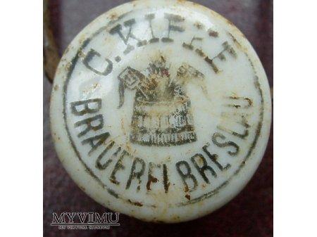 Duże zdjęcie C.Kipke Brauerei -Breslau -Wrocław