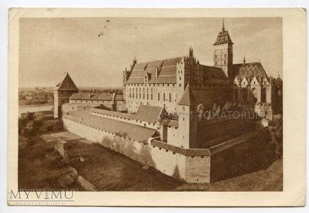 Malbork Marienburg - Zamek Krzyżacki 1952