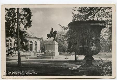 W-wa - pomnik Poniatowskiego - 1960