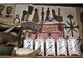 Grupa narzędzi i kuchenne pojemniki gospodarcze