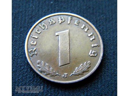 Duże zdjęcie 1 Reichspfennig 1937