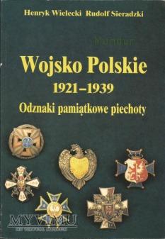 Wojsko Polskie 1921-39 odznaki piechoty