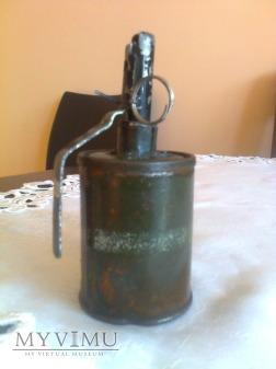 Duże zdjęcie (7x) Granat RG-42 ręczny odłamkowy (zaczepny)