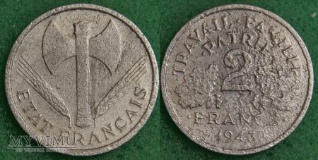 Francja, 2 FRANCS 1943