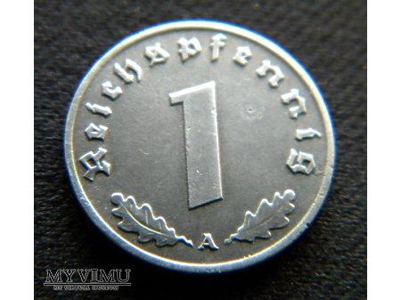 Duże zdjęcie 1 Reichspfennig 1942