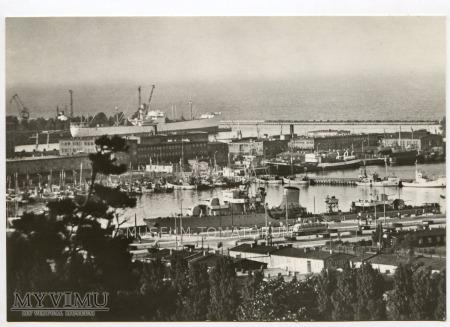 Gdynia - Skwer Kościuszki - port - 1960-te