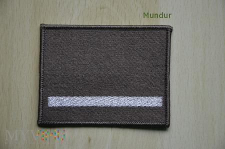 Oznaka stopnia - starszy szeregowy SG