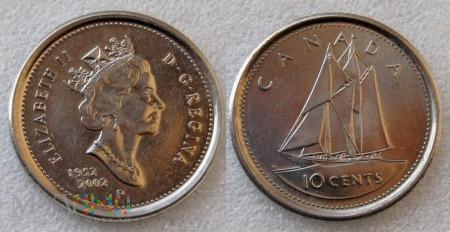 Kanada, 10 CENTS 2002