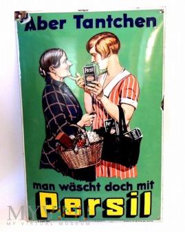Stara niemiecka reklama Persila