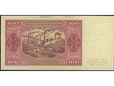 100 zł 1948 r.