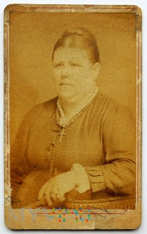 Zdjęcie na kartoniku kobieta