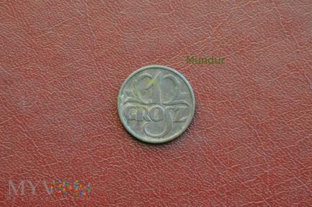 Moneta: 1 grosz 1939
