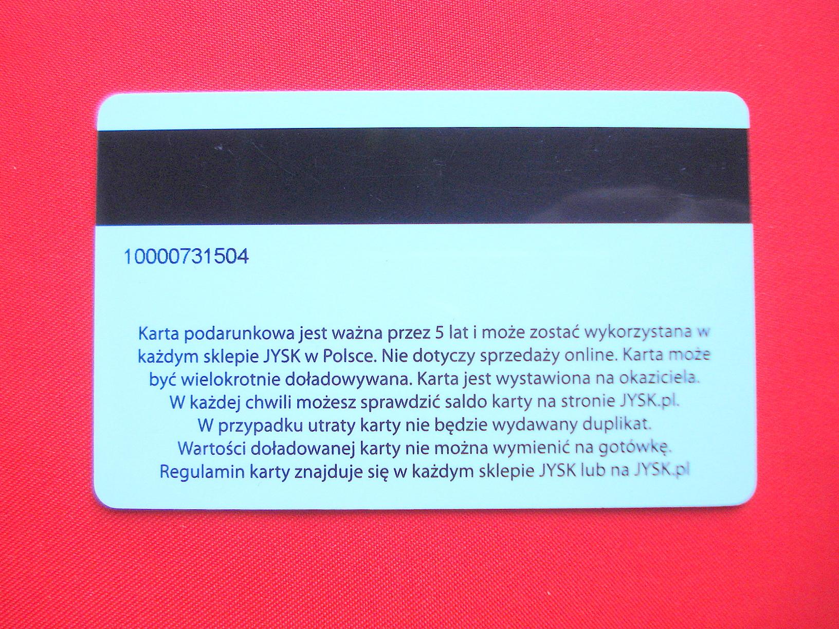 Karta Podarunkowa Jysk W Muzeum Juranda W Myvimu Com