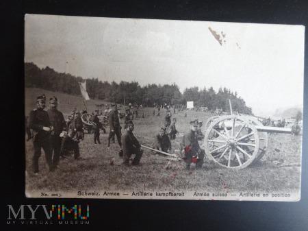 Duże zdjęcie Artyleria Szwajcarii