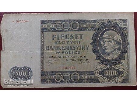500 zł. z góralem - Polska