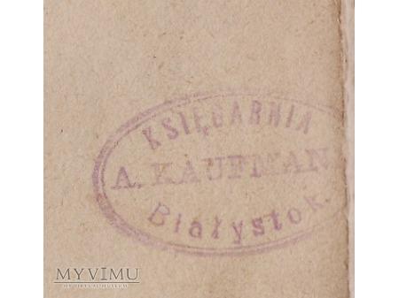 Księgarnia A.Kaufmana-Białystok