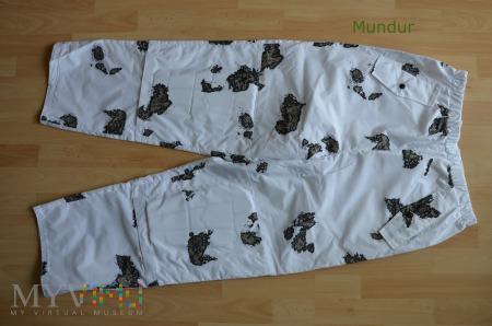 Ubranie maskujące białe Wojsk Specjalnych -spodnie