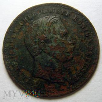 medalik Wilhelm II Kaiser 1888r