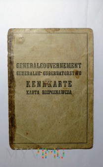 Generalne Gubernatorstwo - Kennkarte
