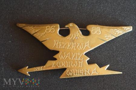 Odznaka Rezerwisty - J.W. 3761 w Wałczu.