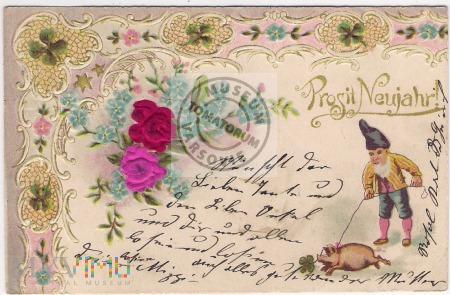 Świnka Noworoczna - 1902