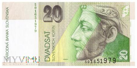 Słowacja - 20 koron (2001)