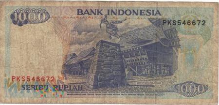 INDONEZJA 1000 RUPII 1992
