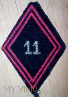 11 Regiment du Genie - inżynieryjny - wzór 45