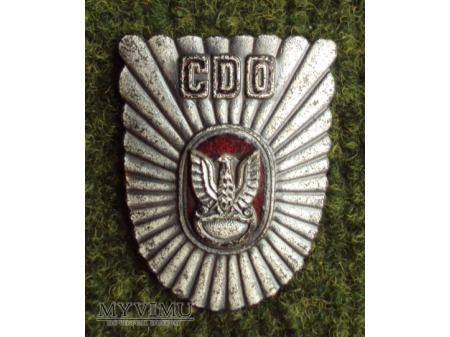 Odznaka centrum doskonalenia oficerów