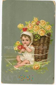 Pocztówka artystyczna - 1919