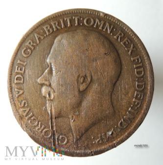 Moneta 1 Pens 1919 Jerzy V One Penny