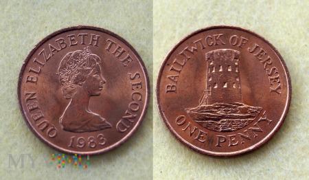 Jersey, 1 penny 1983