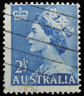 Australia 2 1/2D Elżbieta II