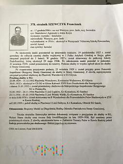Przebieg służby w Straży Granicznej 1929-1938