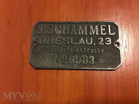 tabliczka J. Schammel