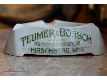 Popielniczka reklamowa z Hirschberg/Jeleniej Góry