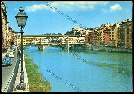 Firenze - Stary Most, Most Złotników - lata 70-te