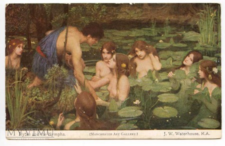 J.W. Waterhouse - Hylas i nimfy