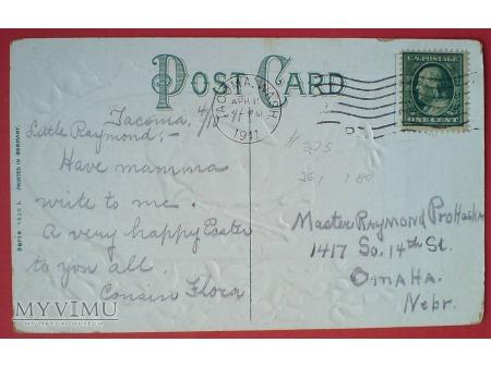 Wielkanoc Pisanka i kurczak z fajką FAJKA 1911