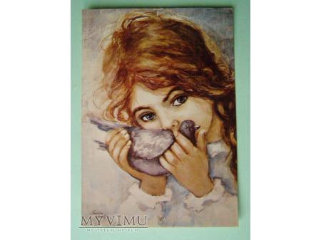 27. Dziewczynka z gołąbkiem 1975