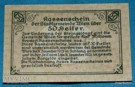 50 Heller 1920 (Notgeld)