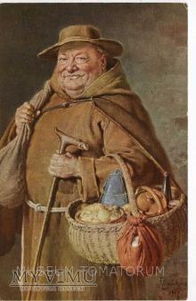 Monk Friar Mönch capucin zakonnik - jadło 1