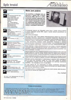 SAT AUDIO VIDEO 1992 rok, cz.II